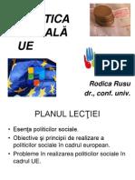 Politica Sociala Ue