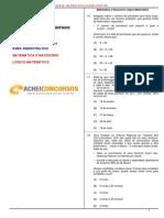 TRT24 - Técnico Judiciário 2011 - RLM FCC ACHEI