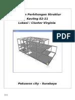 laporan perhitungan struktur e2-11.doc