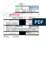 Bachelor of Business Psychology Aug 13 Timetable
