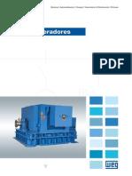 WEG Turbogeneradores 50022179 Catalogo Espanol