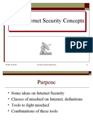 Basic Internet Security Concepts | Public Key Cryptography