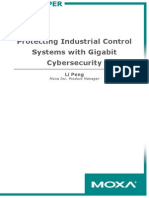 Moxa White Paper - Protecting Industrial Control Systems With Gigabit Cybersecurity