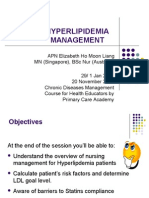 Hyperlipidemia Self Management