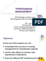 Hypertension Self Management