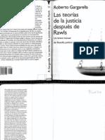 Las Teorias de La Justicia Despues Rawls - Gargarella Roberto