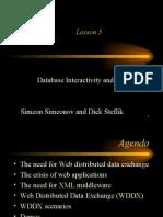 Web Distributed Data eXchange (WDDX)