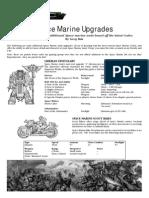 Space Marine Upgrades