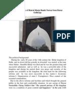 Biography of Hazrat Khaja Bande Nawaz Gesu Daraz Gulberga