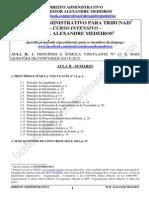 DIR_ADM-AULA_II-ALEXANDRE_MEDEIROS-TRIBUNAIS(PRINCÍPIOS)