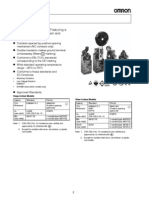 Datasheet Limit Switch