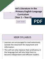 (1) Literature Component