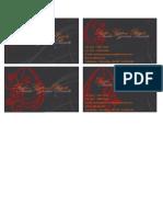 cartão aline - patrick