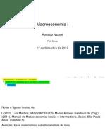 Macroeconomia I - PUC Minas - Is LM