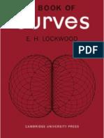 A Book of Curves - E Lockwood (Cambridge, 1961) Ww
