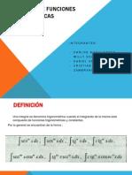Integrales de funciones trigonométricas