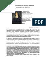 131 Deseo Como Poder de Existencia en Spinoza