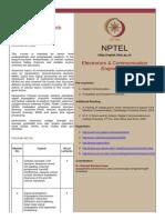 Www.nptel.iitm.Ac.in Syllabus Syllabus PDF 117103016