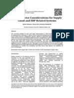 ERP MOV Consideraciones