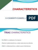 TRIAC CHARACTERSTICS