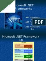 Dot Net Framework 2.0 vs Framework 3.0 vs Framework 3.5