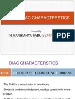 DIAC & TRIAC CHARACTERSTICS
