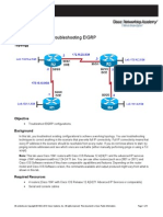 CCNPv6 ROUTE Lab2-7 EIGRP Troubleshooting Student