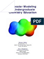 Molecular Modeling in Undergraduate Chemistry Education