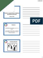 Aula 3 - História, características e objetivos da DG