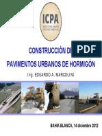 Construccion de Pav Urbanos de h