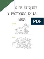 Videos de Etiqueta y Protocolo en La Mesa