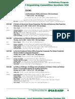 Preliminary Program IPSA