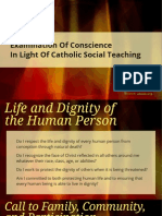 Examination of Conscience in Light of Catholic Social Teaching