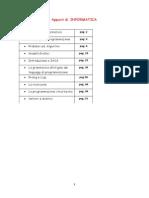 Appunti Informatica Classe 3