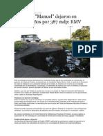 22-09-2013 Puebla on Line - Ingrid y Manuel dejaron en Puebla daños por 387 mdp, RMV