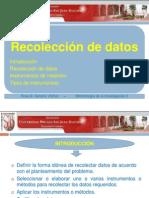 Clase XIII Recoleccion de Datos UPSJB 2013