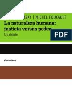 Noam Chomsky - Michel Foucault, La naturaleza humana