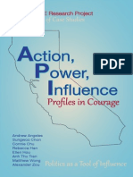 """""""Action, Power, Influence"""