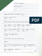 Cálculo - Lista 2 Pontos