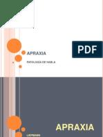APRAXIA - ANARTRIA