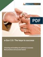 eGov 2.0 keys to success white paper June2009