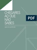 Livro50anos - PARA CHEGARES ONDE NÃO SABES