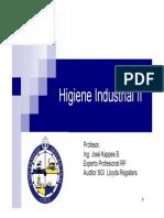 Higiene Industrial - Aerosoles