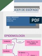 Cancer Esofago