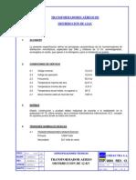 Norma Chilectra 1, TFs Aereos 12 kV