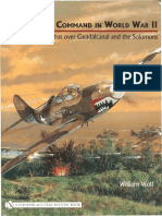 13th Fighter Command in World War II 'Air Combat Over Guadalcanal and the Solomon