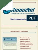 Análisis de GeneaNet - Presentación
