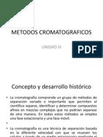 METODOS CROMATOGRAFICOS
