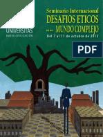 Folleto Seminario Desafios Eticos