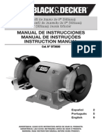 Amoladora Bt3600 Manual